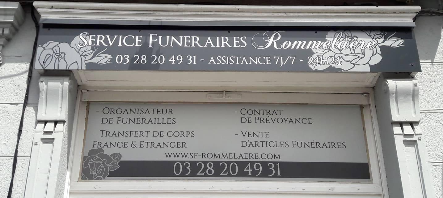 Agence de pompes funèbres à Bergues
