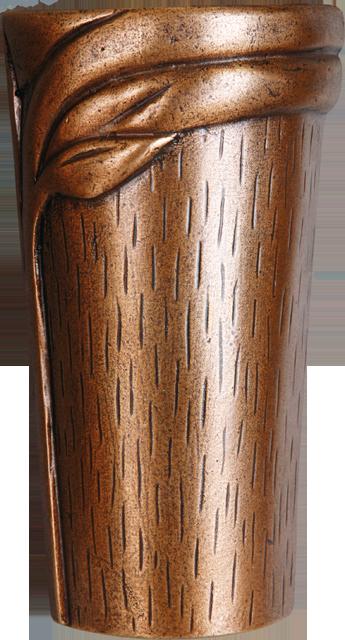 VASE PLIE en bronze columbarium/enfeu (à coller)